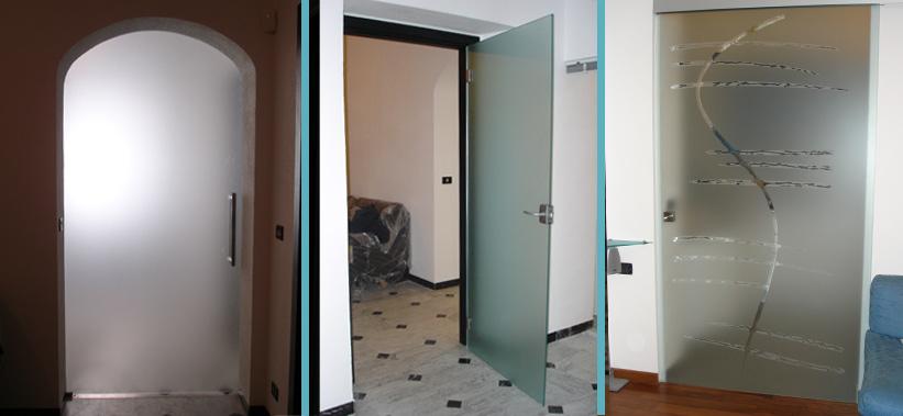 Casa moderna roma italy porte interne genova - Porte a specchio per interni ...