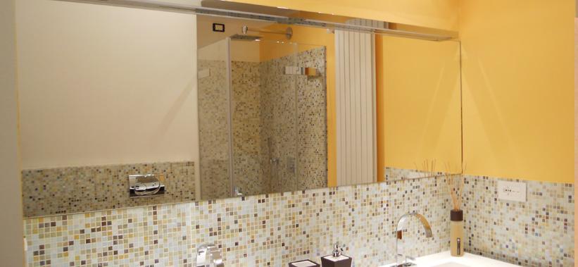 Realizzazione specchi su misura vetreria squillante genova for Specchi su misura on line